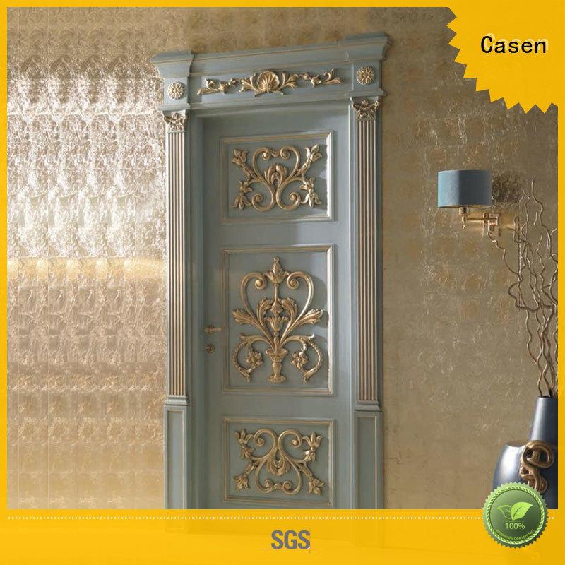 Casen wooden luxury wooden doors single for kitchen