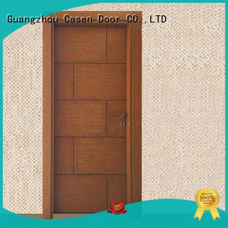 design dark solid core mdf interior doors Casen Brand