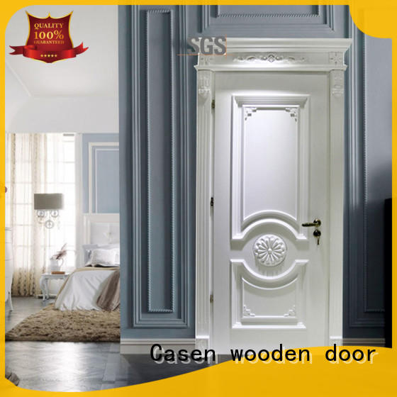 Casen Brand carved single fancy doors manufacture