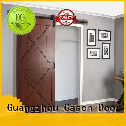 modern barn doors space for washroom Casen