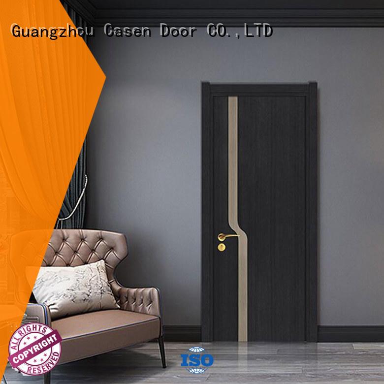 Casen plain composite wood door simple style