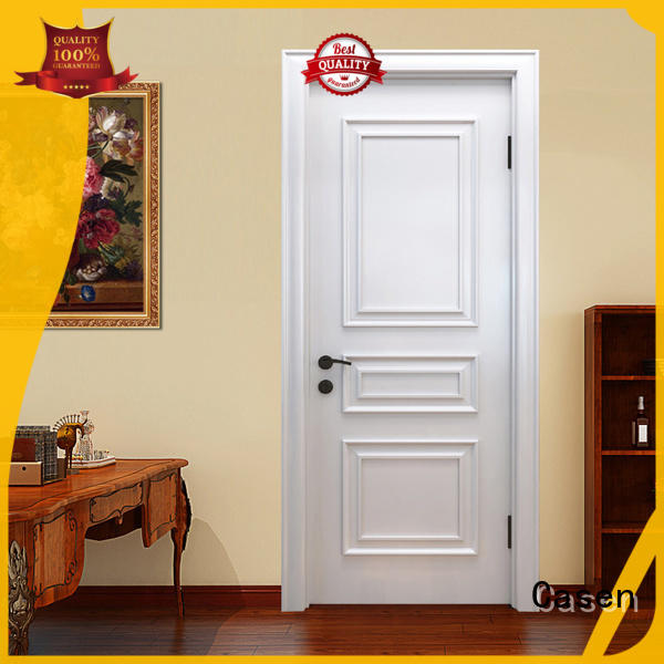 Casen white color fancy doors single for store decoration