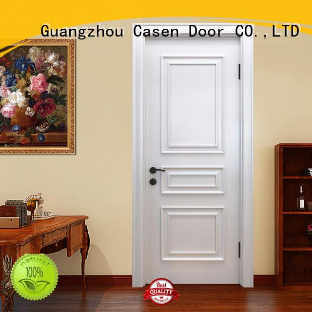 Casen wooden luxury wooden doors easy for bathroom