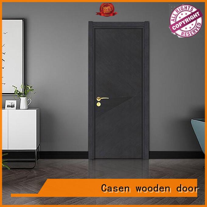 Casen light color composite door gray for washroom