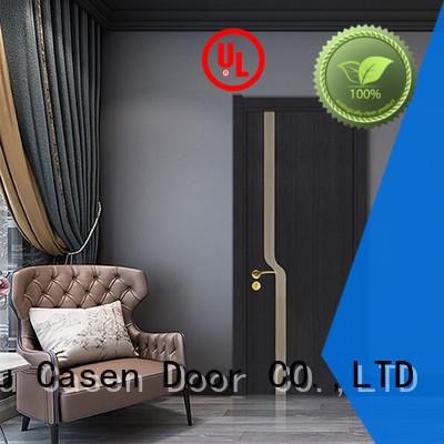 wood light flat Casen Brand 4 panel doors
