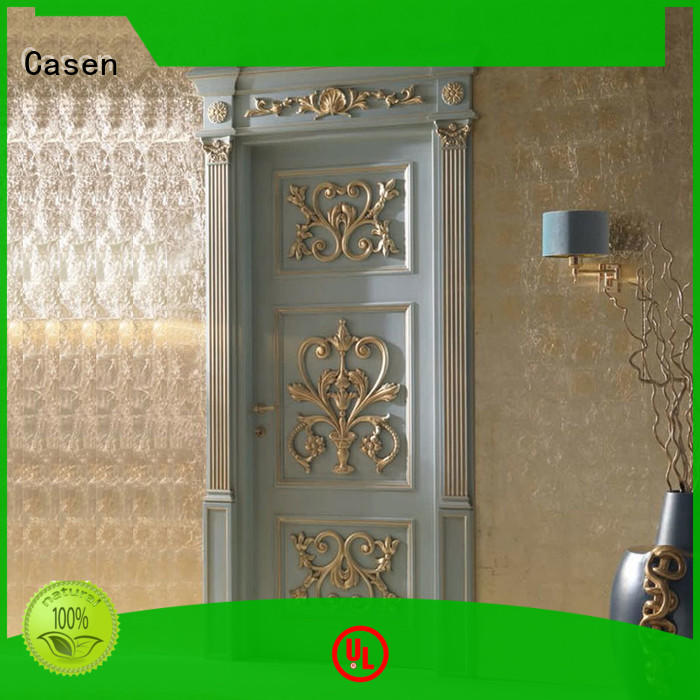 Quality Casen Brand style bathroom fancy doors