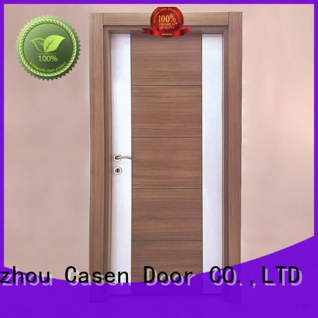 flat Custom bedroom mdf doors dark Casen