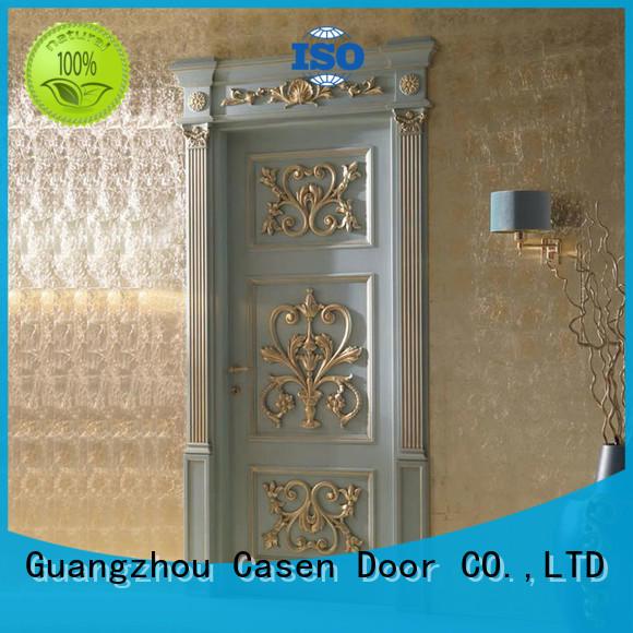 wooden door modern for living room Casen