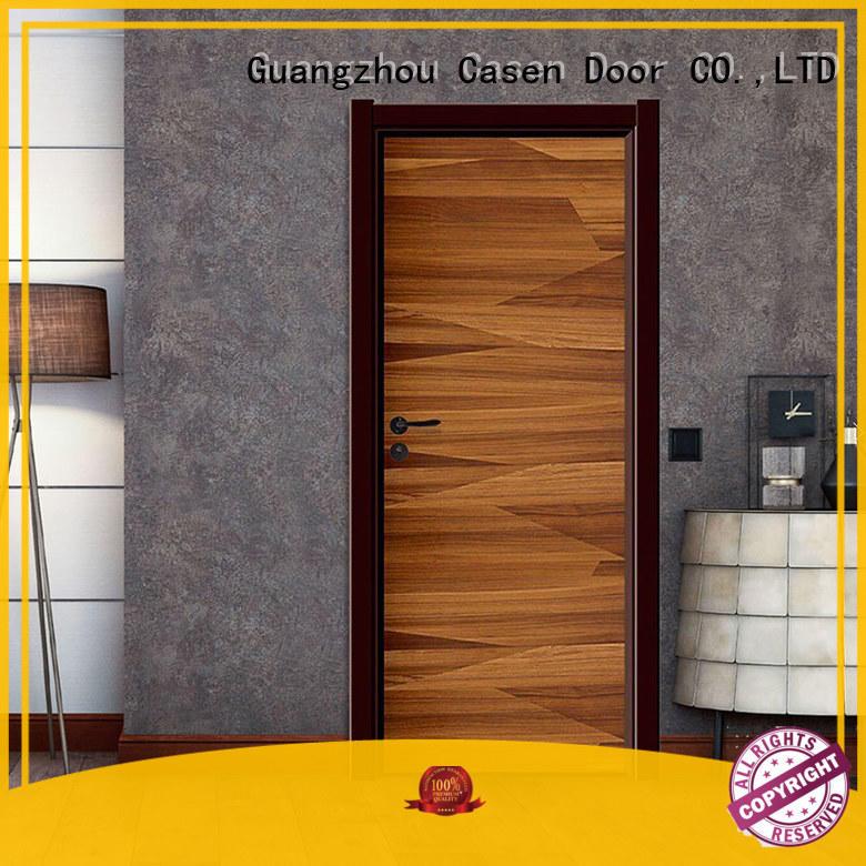 wood 4 panel doors inside flat Casen company