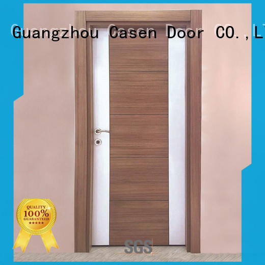 Wholesale white solid core mdf interior doors Casen Brand