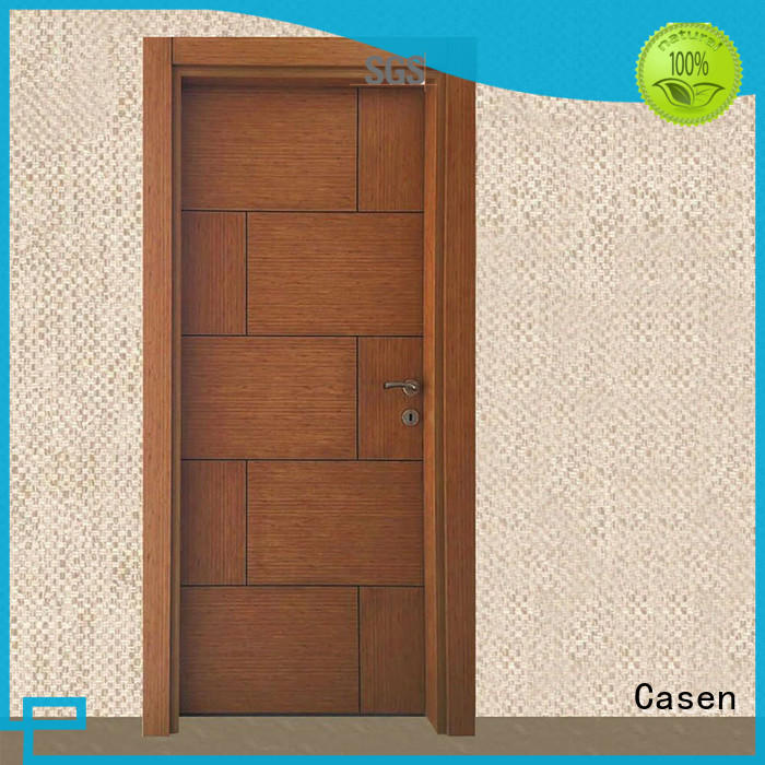 flat simple mdf doors room bedroom Casen company