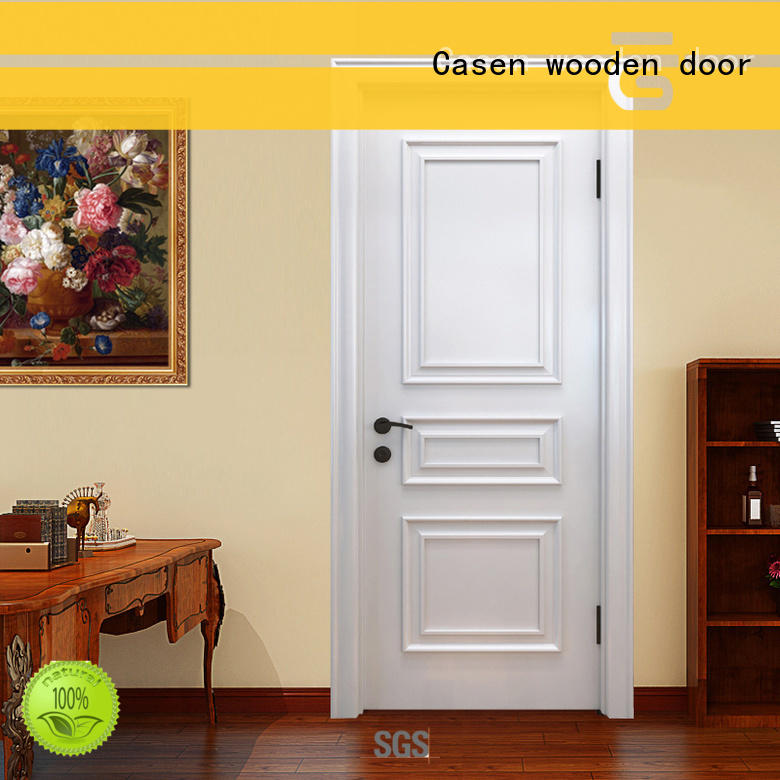 Casen wooden fancy doors modern for bedroom