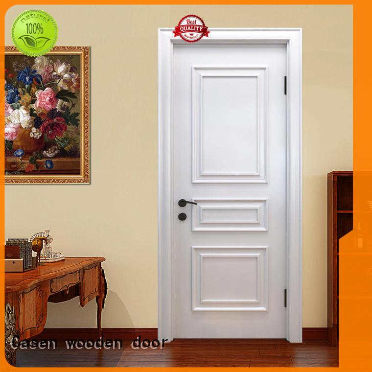 Casen modern solid wood interior doors easy for bathroom