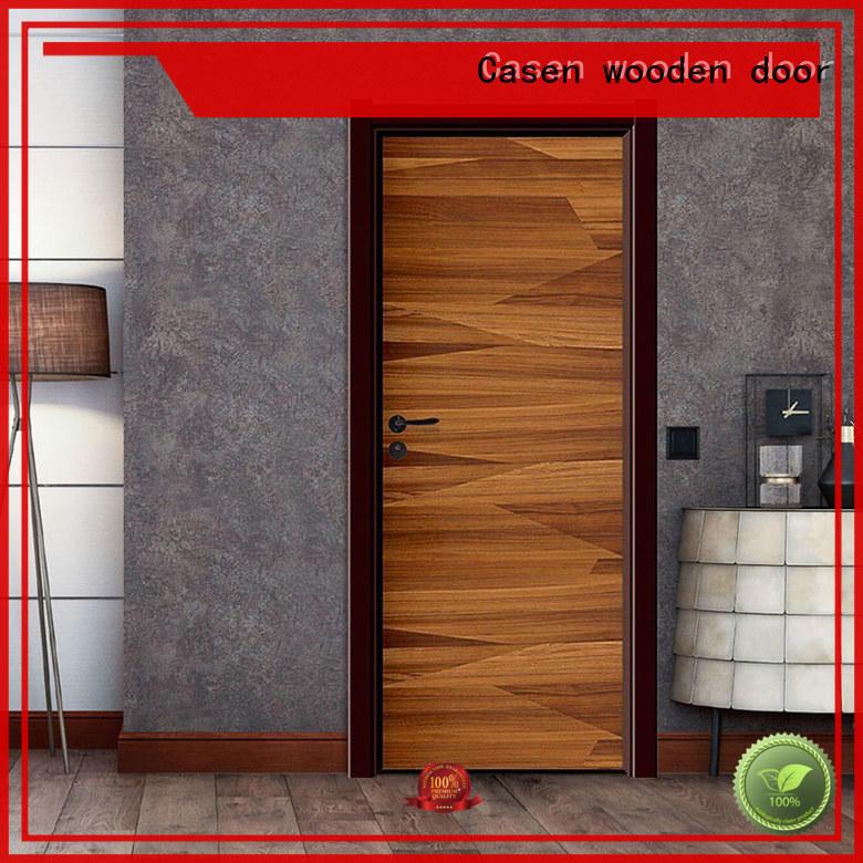 Casen Brand wood plain gray 4 panel doors manufacture