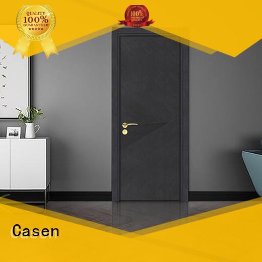 Casen plain composite door best design for washroom