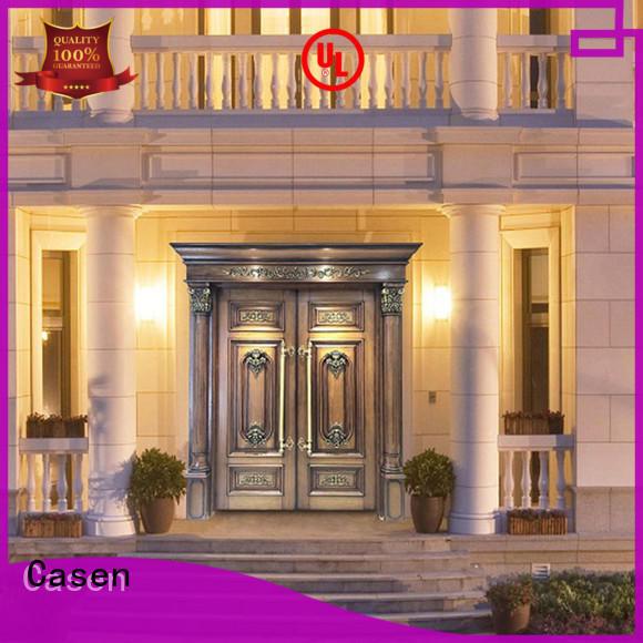 Casen contemporary entry doors luxury design for shop