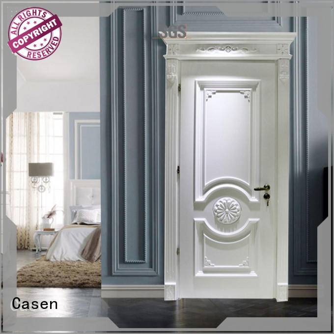 Quality Casen Brand luxury doors white flowers
