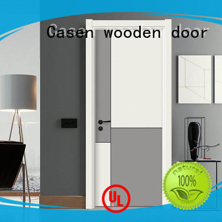 plain composite door best design for washroom