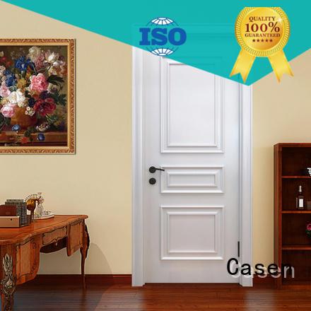 Casen wooden style doors carved flowers for bedroom