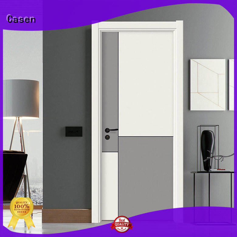 light color composite door flat simple style