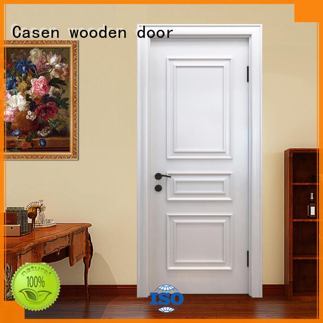 wooden fashion doors french design for store decoration