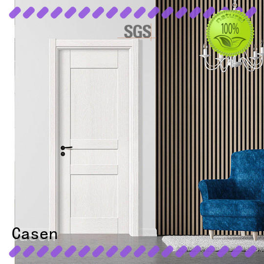 Casen simple design solid mdf doors wholesale for decoration