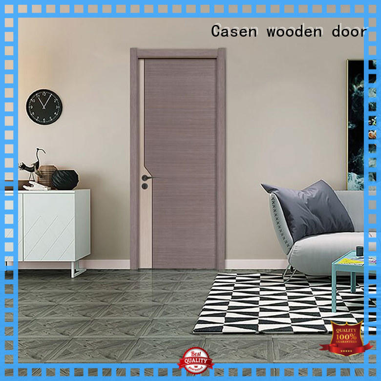 Casen high-end interior wood doors cheapest factory price for store decoration