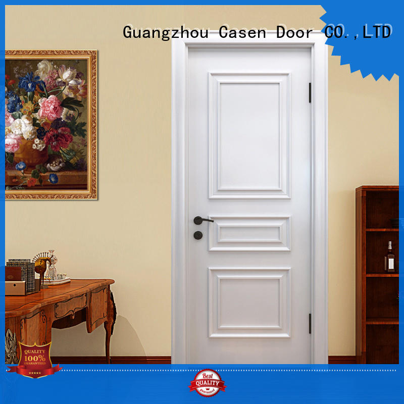 Casen carved flowers luxury wooden doors modern for kitchen