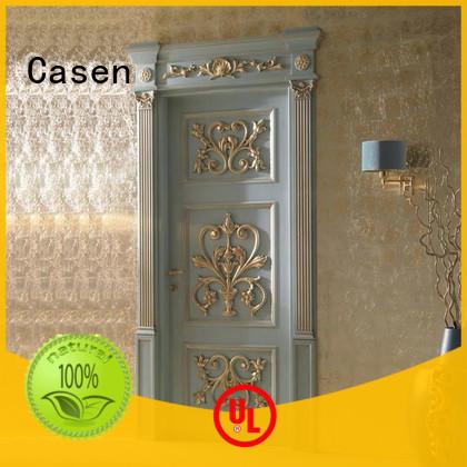Casen american luxury wooden doors modern for bedroom