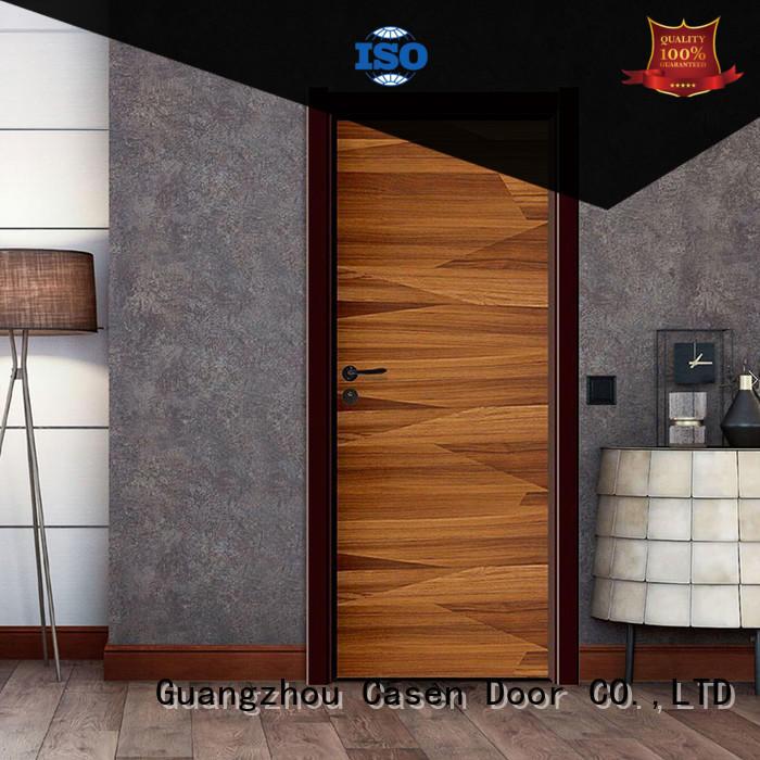 Casen plain composite door gray for washroom