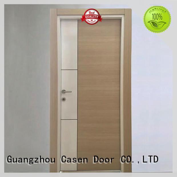 durable mdf interior doors easy installation for washroom Casen