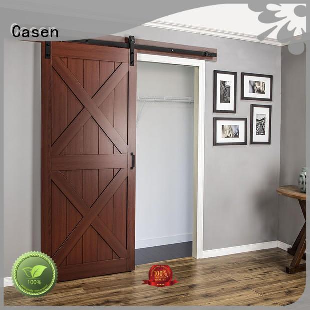 Casen glass interior sliding doors OEM for shop
