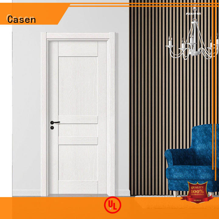 Wholesale white dark mdf doors Casen Brand