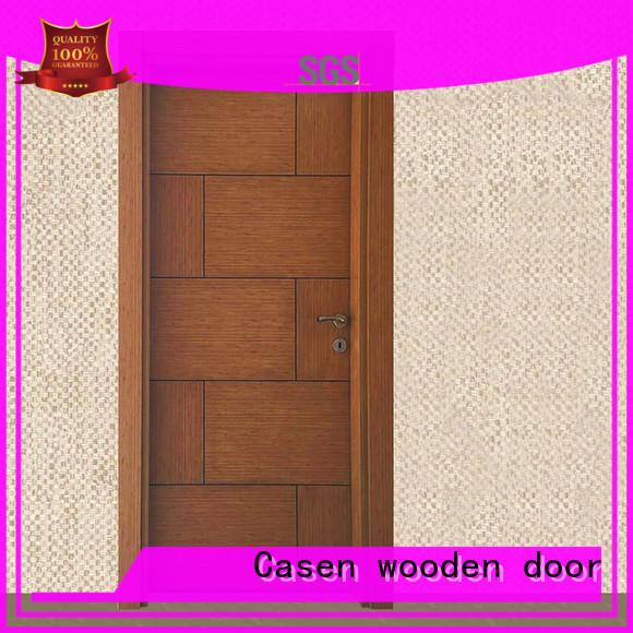 bedroom flat dark simple Casen Brand mdf doors supplier