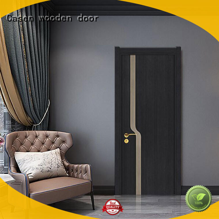 high quality 32 inch interior door with glass wooden simple style for bathroom