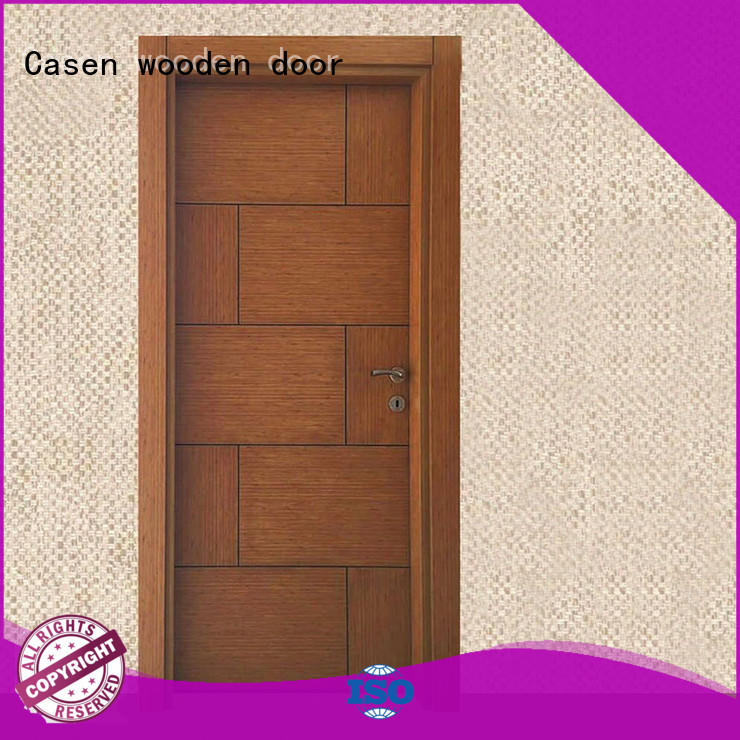 Casen mdf single panel interior doors cheapest factory price for decoration