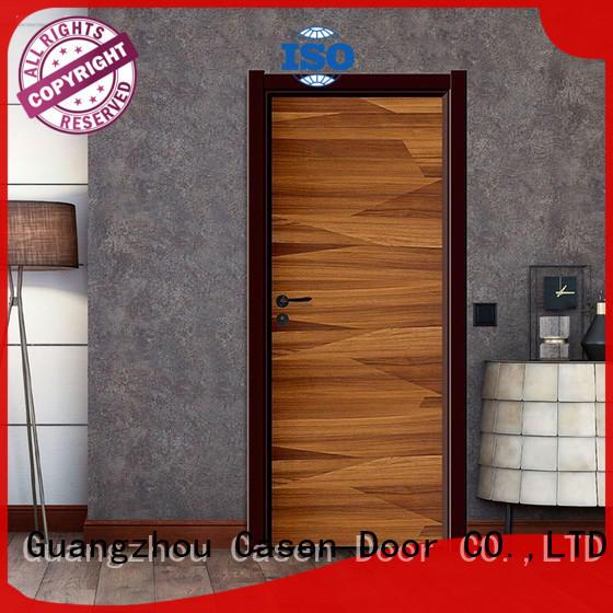 Casen light color composite wood door simple style for bedroom