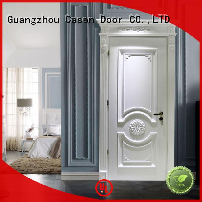 Casen american solid wood interior doors easy for bathroom