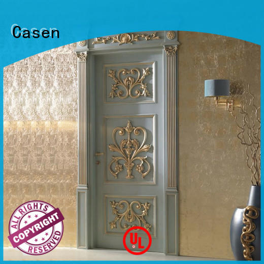 Casen white color fancy internal doors american for kitchen