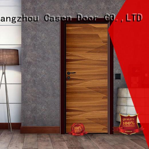 high quality black composite door simple style for bedroom Casen