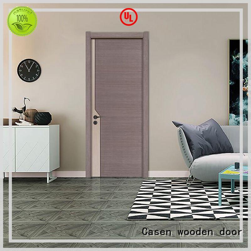Casen durable solid wood door design cheapest factory price for living room