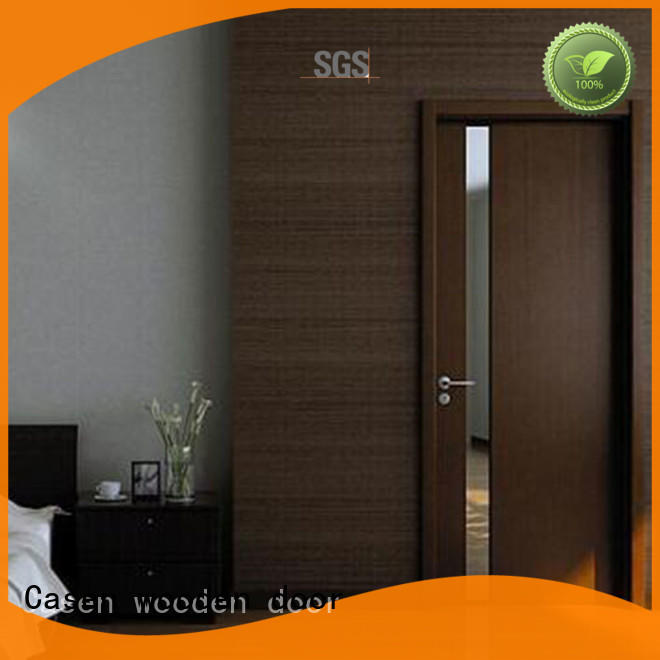 design color interior Casen Brand modern wooden doors factory