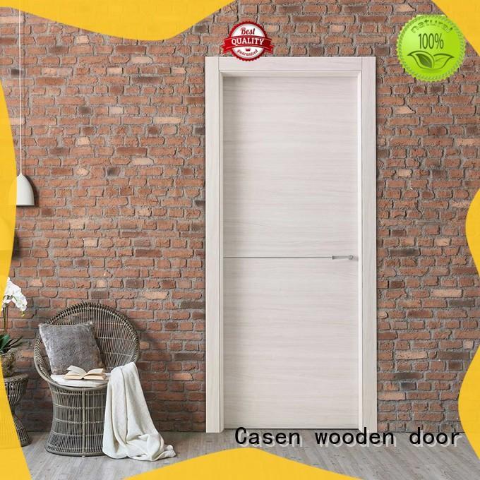 Casen fast installation internal glazed doors wholesale for washroom