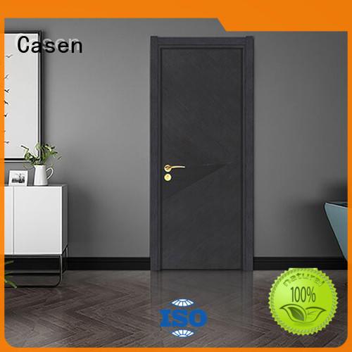 Casen light color modern composite doors easy