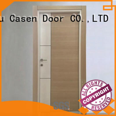 Casen high quality mdf interior door manufacturers easy installation for decoration