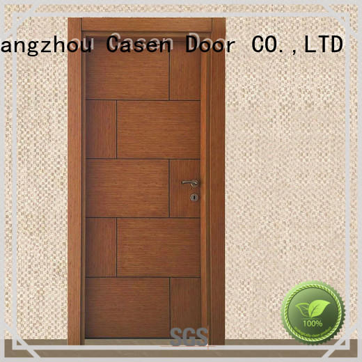 solid core mdf interior doors white simple wood Casen Brand