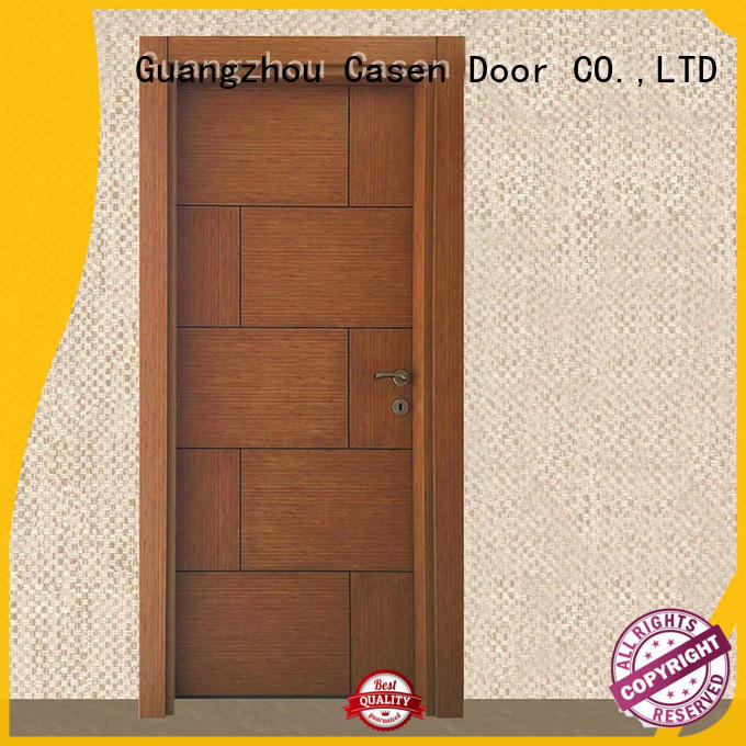 funky solid core mdf interior doors cheapest factory price for washroom Casen