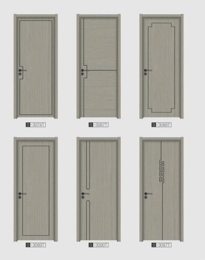Modern door simple design