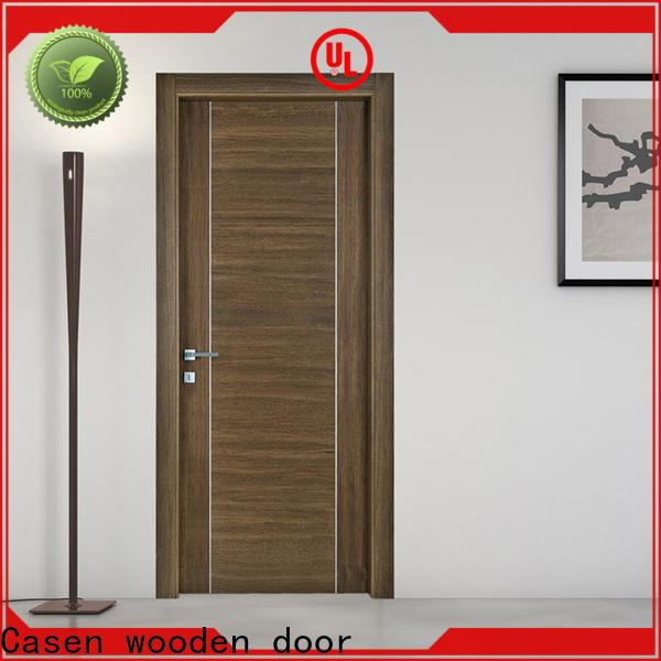 Casen best solid wood door for sale for shop