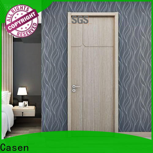 Casen modern wooden door design factory for bedroom